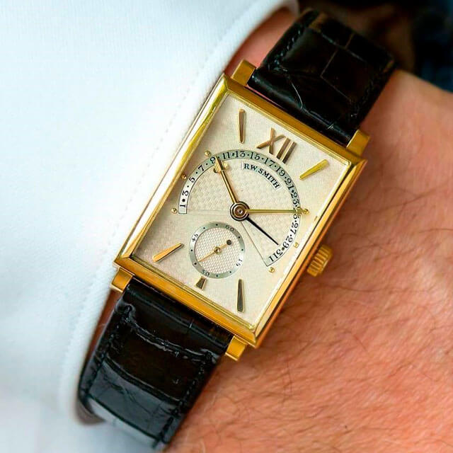 Roger W. Smith's first ever production watch is released for sale